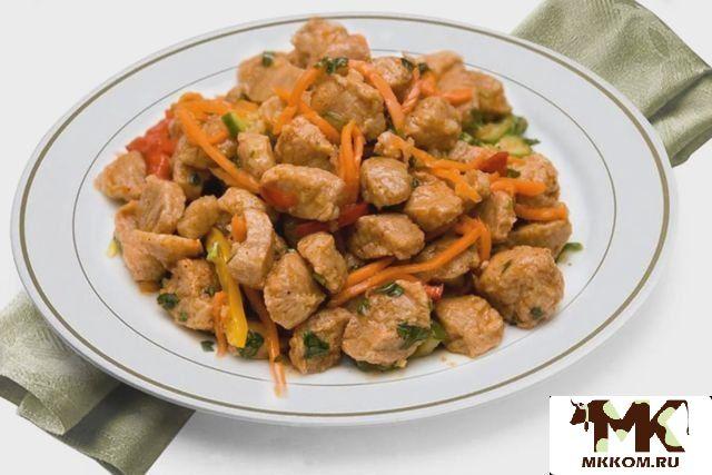 Как готовить соевое мясо на диете